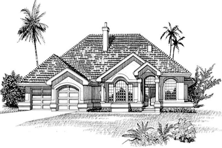 Main image for house plan # 7413