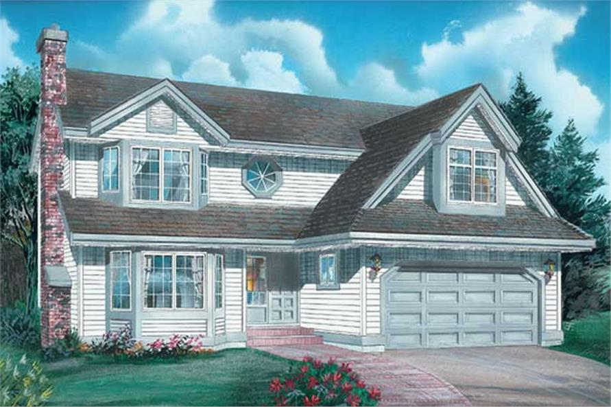 Main image for house plan # 6826