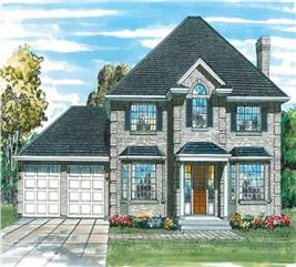 House Plan #167-1357