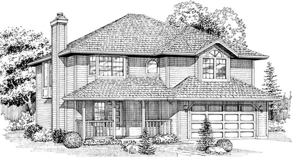 Main image for house plan # 6817