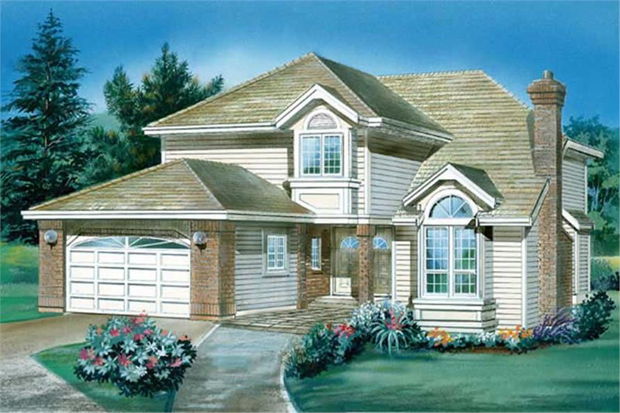 Main image for house plan # 6830