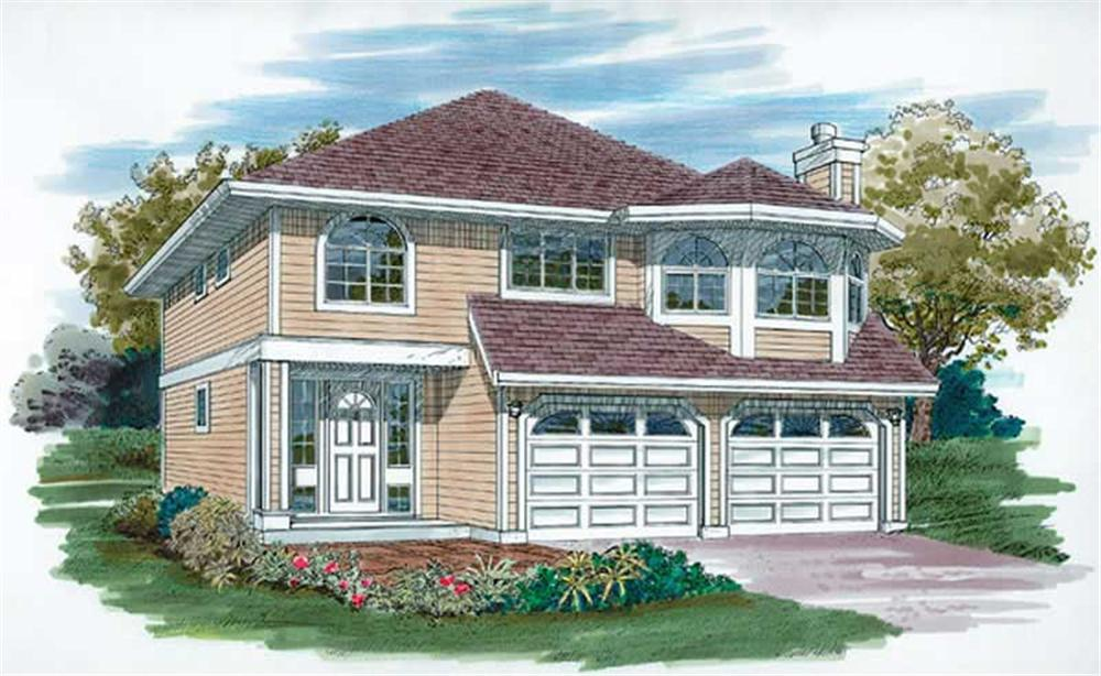 Main image for house plan # 6852