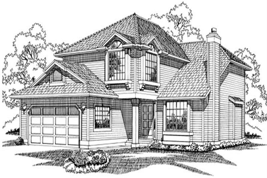 Main image for house plan # 6825