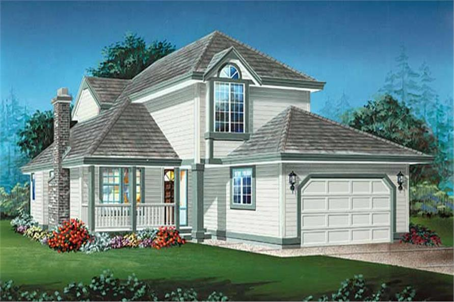 Main image for house plan # 6824