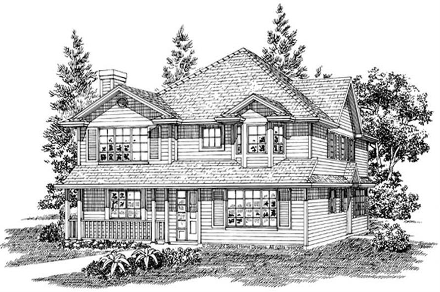 Main image for house plan # 7254