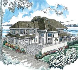 House Plan #167-1372