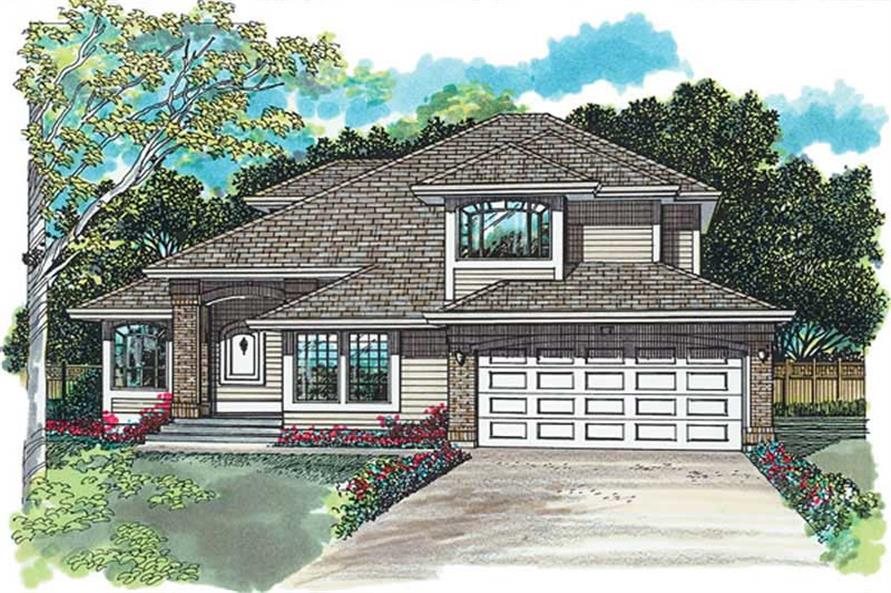 Main image for house plan # 6886