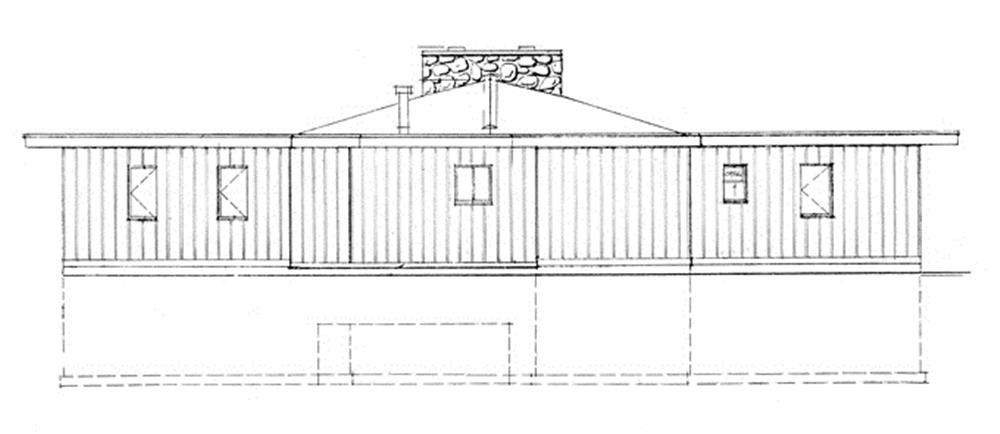 167-1378: Home Plan Front Elevation