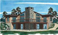 Main image for house plan # 7013