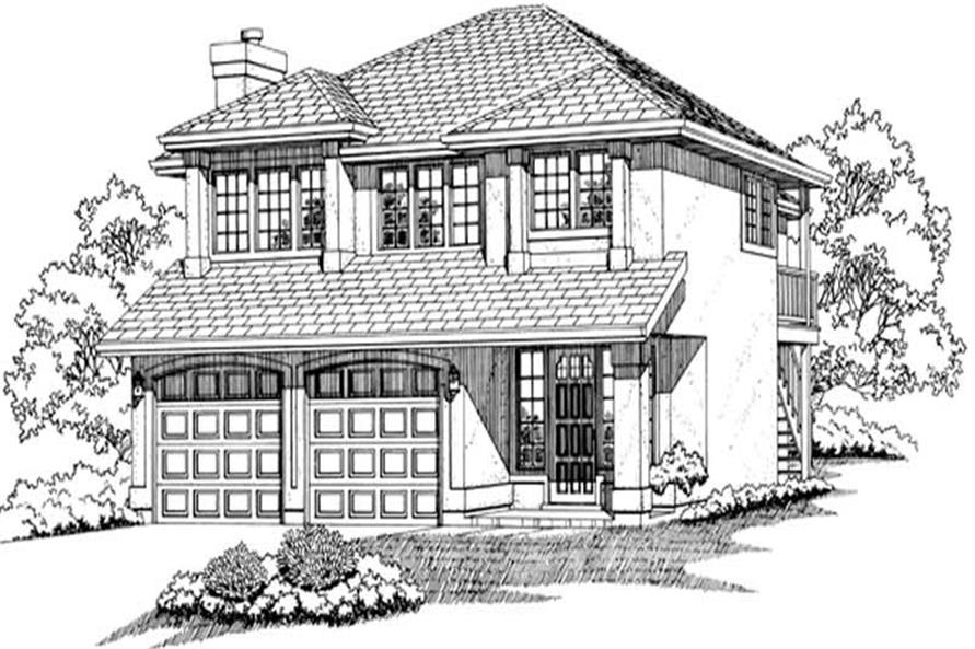 Main image for house plan # 6849