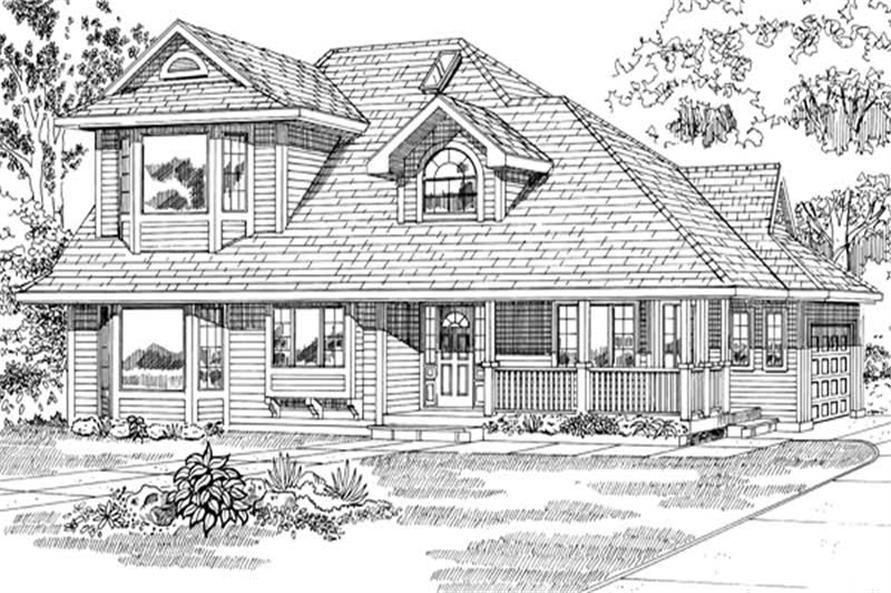 Main image for house plan # 6861