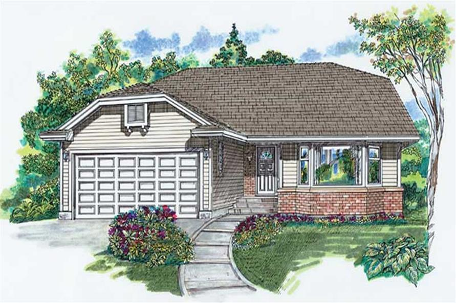 Main image for house plan # 6855