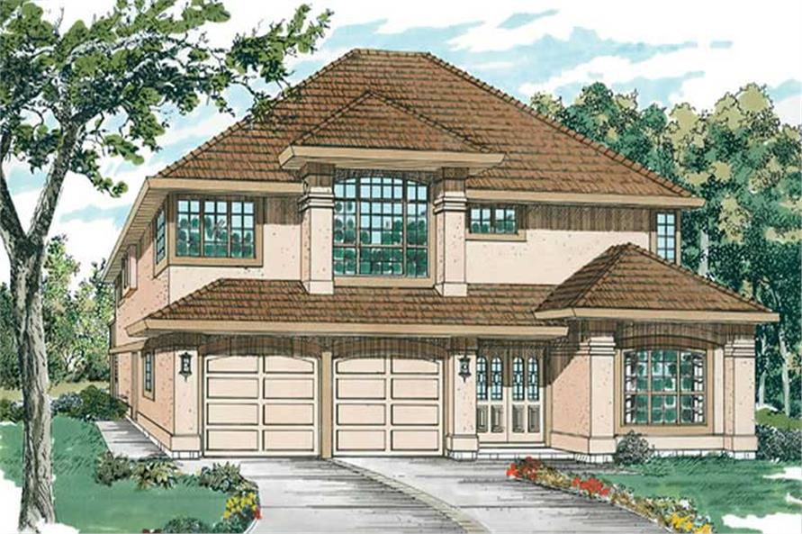 Main image for house plan # 6869