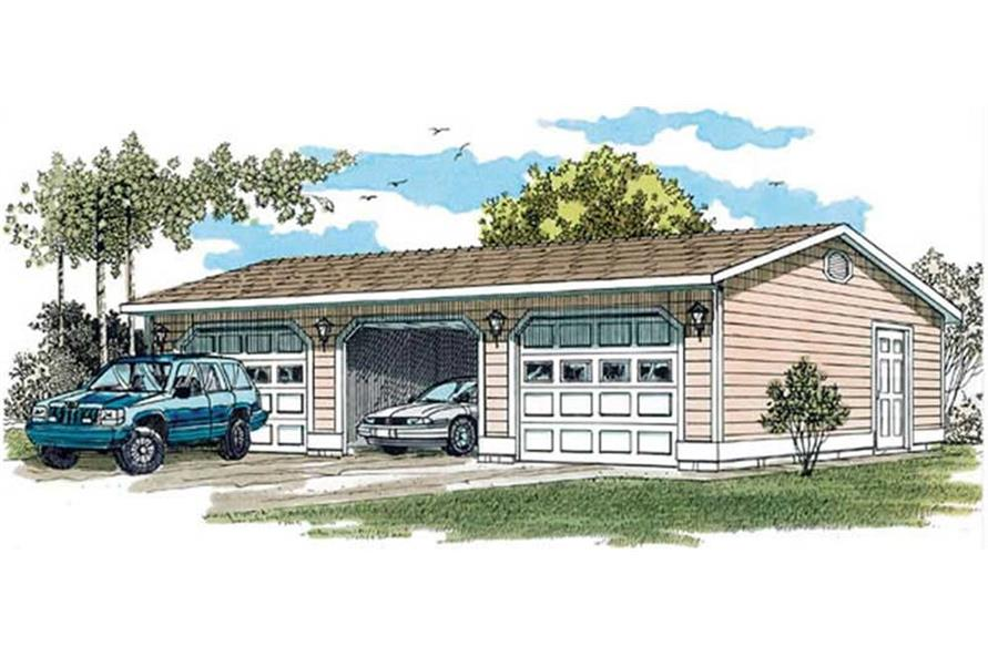 Garage of this 0-Bedroom,50 Sq Ft Plan -50