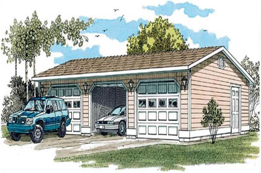Main image for house plan # 7381