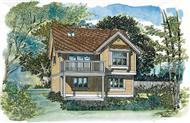 Main image for house plan # 7400