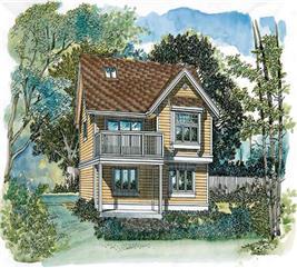 House Plan #167-1395
