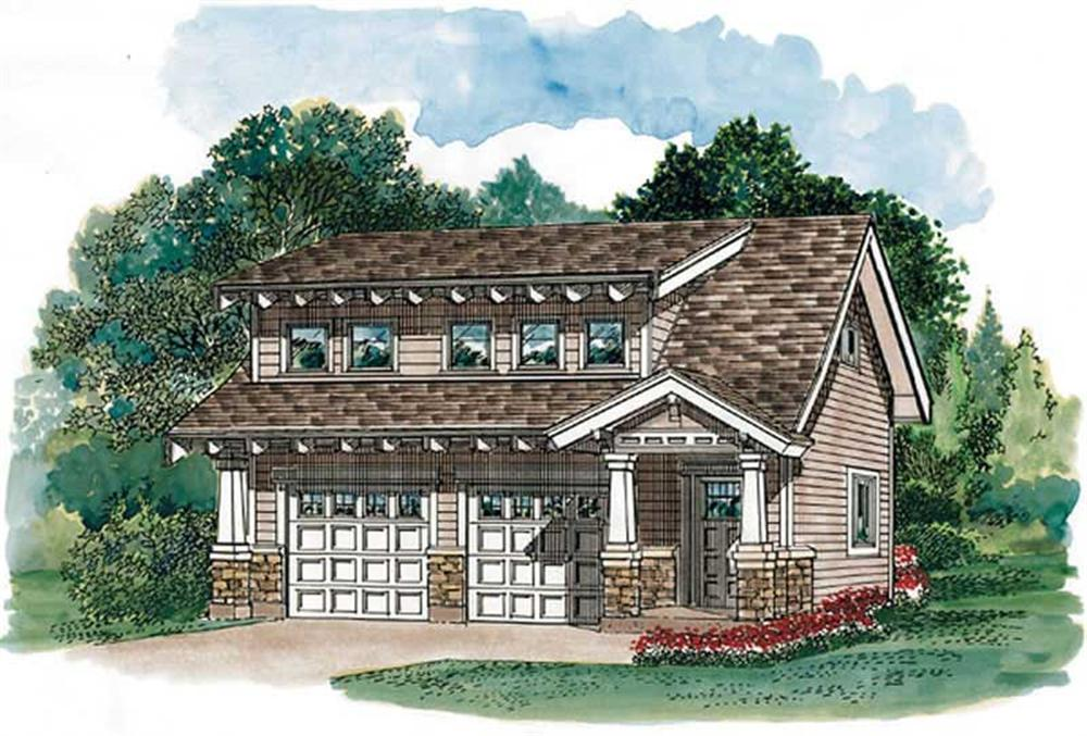 Main image for house plan # 7399