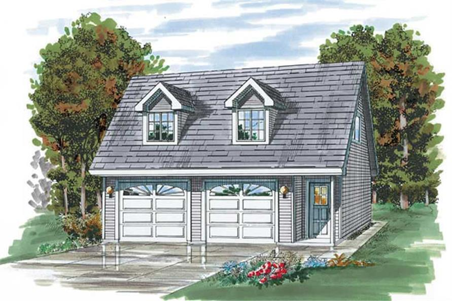 Main image for house plan # 7392