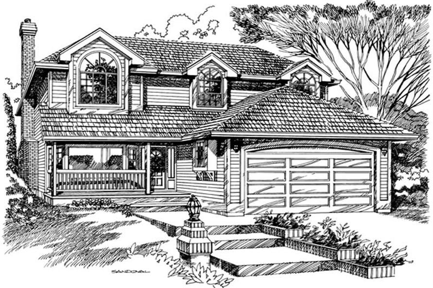 Main image for house plan # 7352