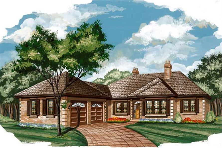 Main image for house plan # 7351