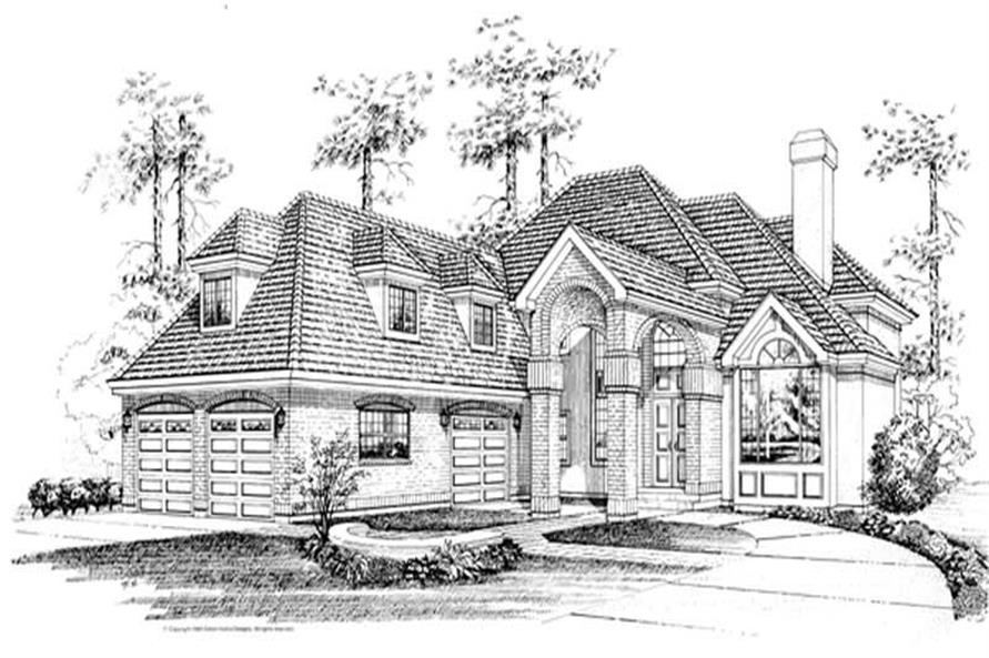 Main image for house plan # 7443