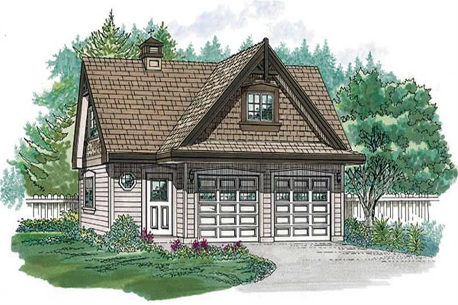 Main image for house plan # 7402
