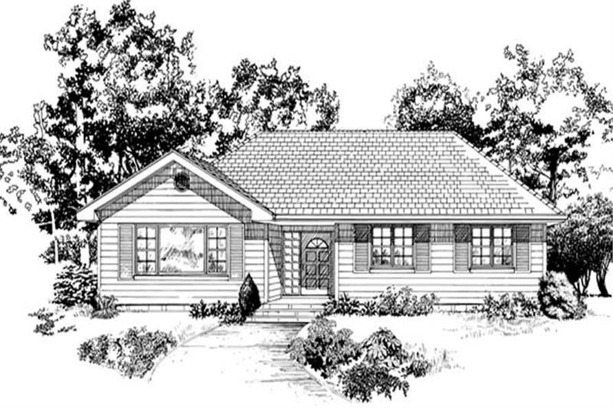 Main image for house plan # 7437