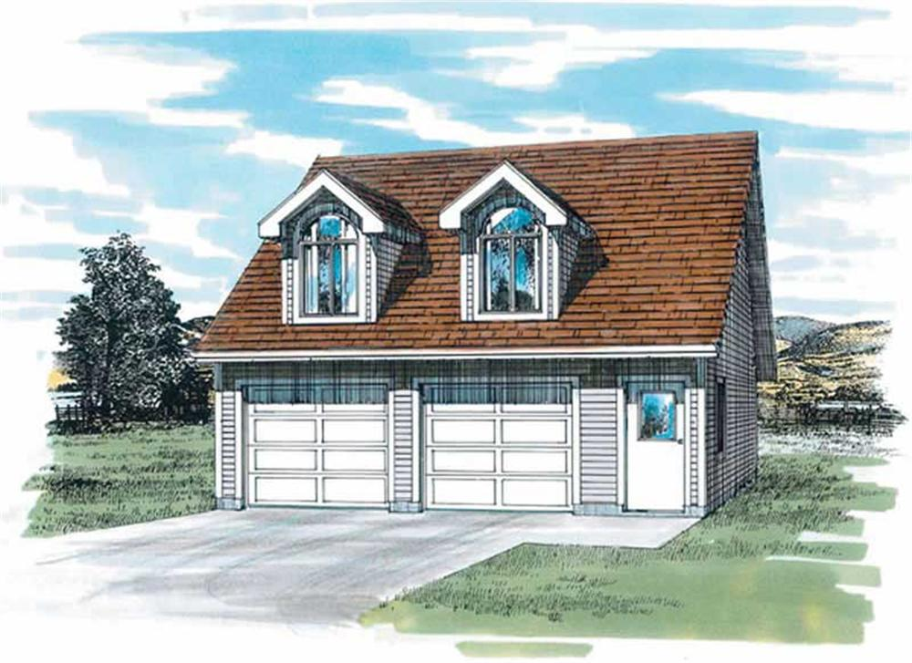 Main image for house plan # 7395