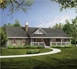 House Plan #167-1431
