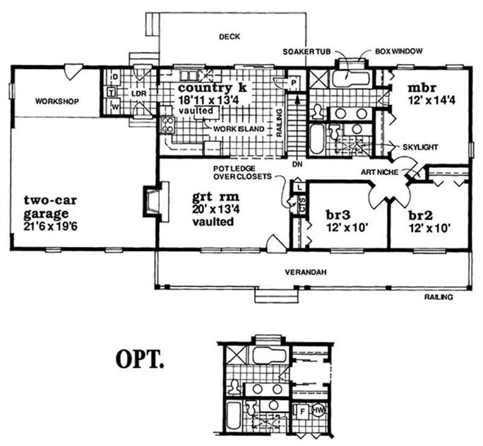 Country House Plan - 3 Bedrms, 2 Baths - 1408 Sq Ft - #167-1431 on ranch style house plans with split bedrooms, low country house plans with garage, small two bedroom house plans with garage, ranch house plan and layout, ranch house plans with courtyard, ranch house plans with basements, ranch house plans with great rooms, ranch style house plans with angled garage, house plans with 3 car tandem garage, house floor plans with side garage, ranch home blueprints, little house floor plans with garage, ranch house 28x40, small guest house plans with garage, ranch home with garage, ranch style home interior design, ranch house plan blueprints, house plans with apartment above garage, open ranch floor plans with 3 car garage, ranch house plans with in law suite,