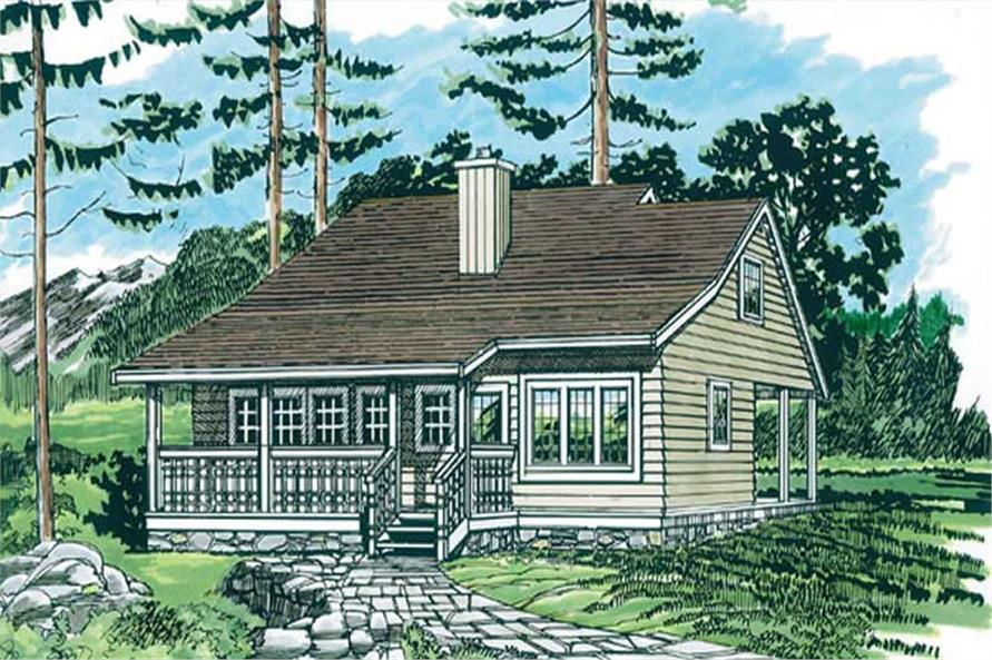 Main image for house plan # 7276