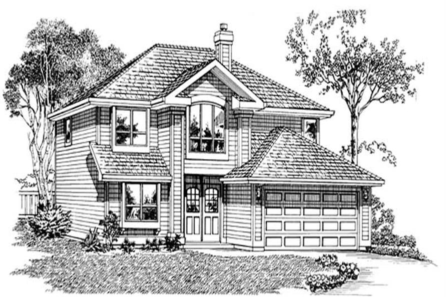 Main image for house plan # 7275