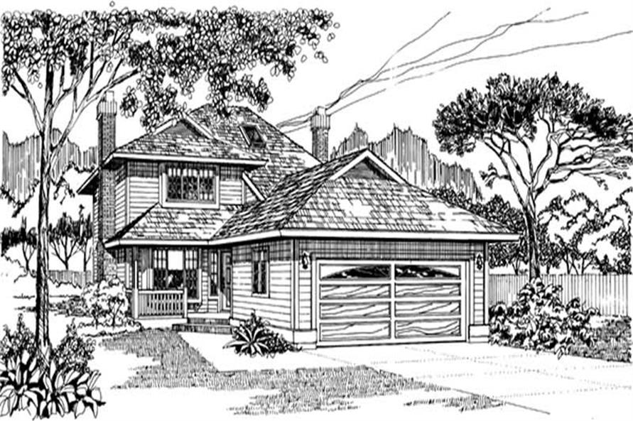 Main image for house plan # 7350