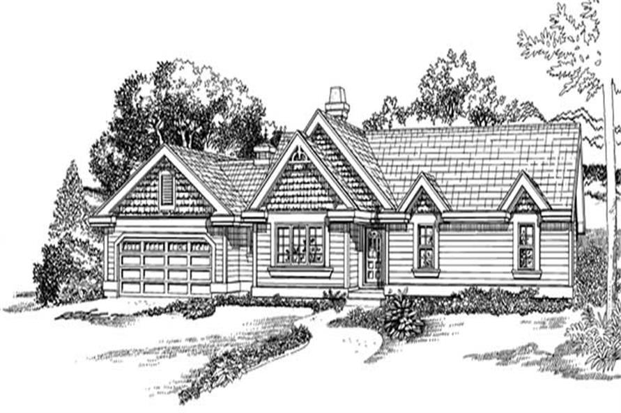 Main image for house plan # 7244