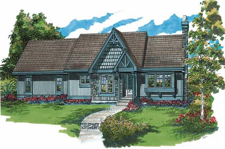 Main image for house plan # 7242