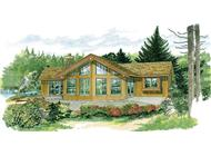 Main image for house plan # 7236