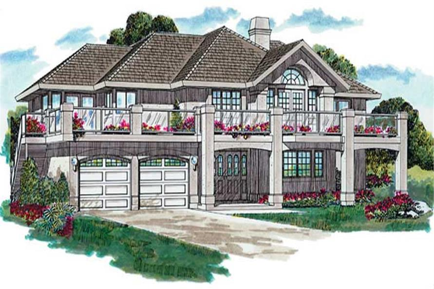 Main image for house plan # 6874
