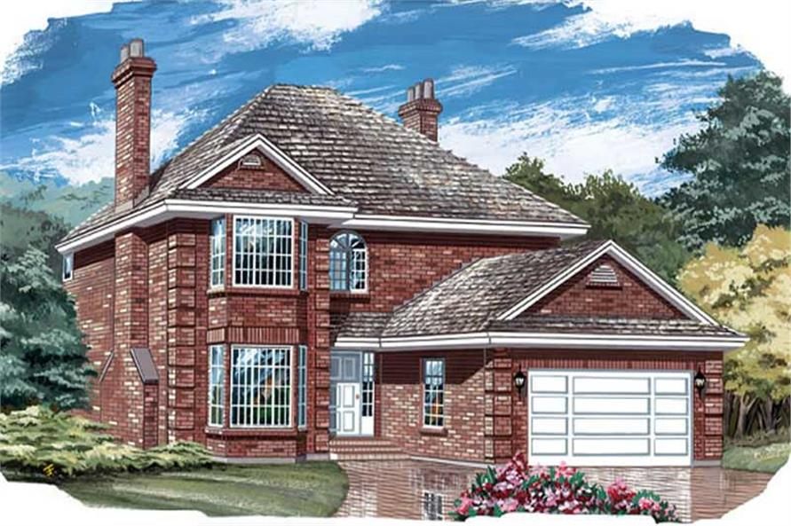 Main image for house plan # 7337