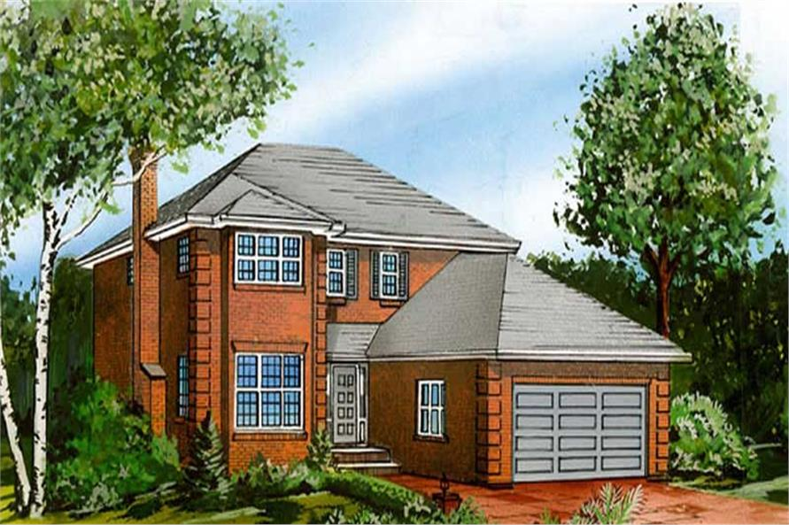 Main image for house plan # 7336