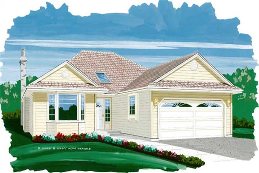 Main image for house plan # 7348