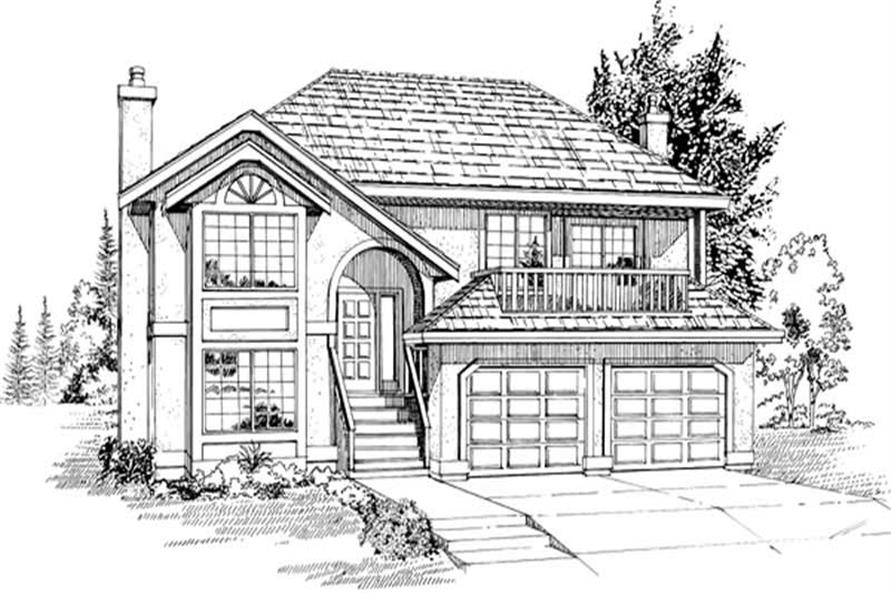 Main image for house plan # 6836