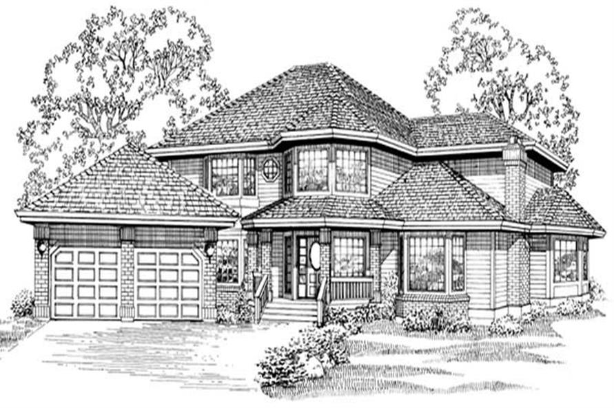 Main image for house plan # 6834