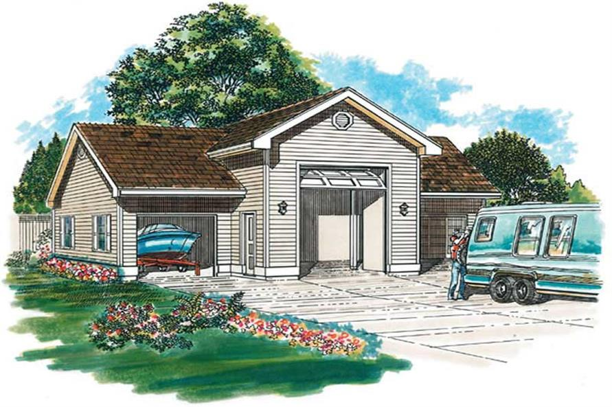 Main image for house plan # 7390