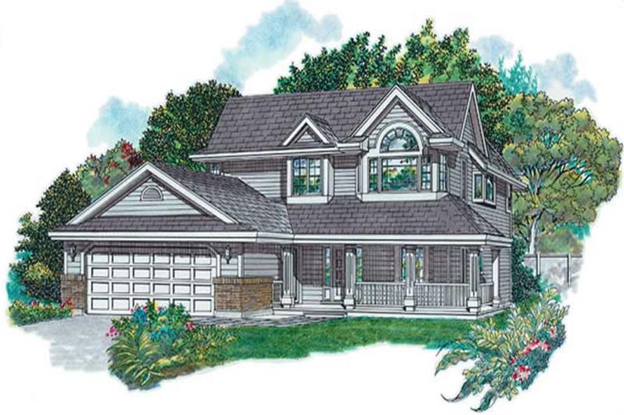 Main image for house plan # 6885