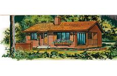 Main image for house plan # 7429
