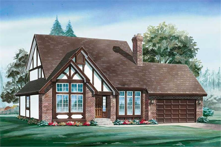 Main image for house plan # 6912