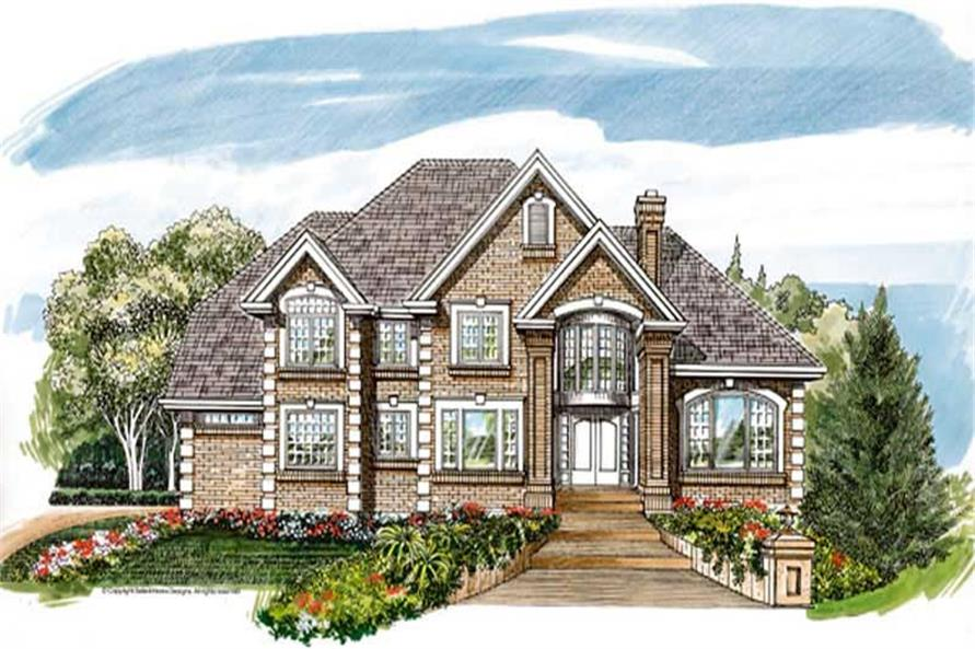 Main image for house plan # 7411