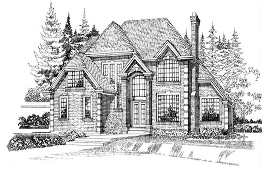Main image for house plan # 7410