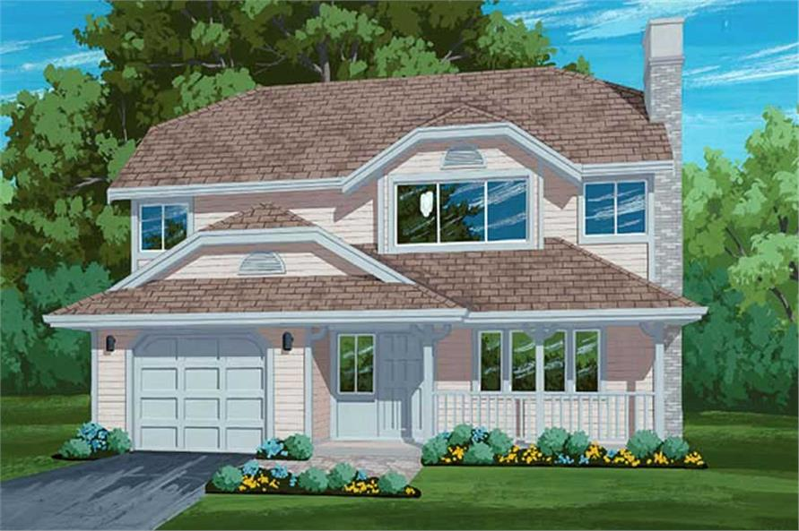Main image for house plan # 6841